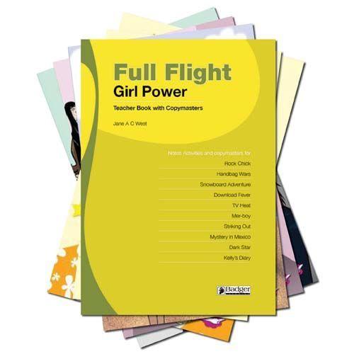 Full Flight Girl Power - Complete Pack with Teacher Book + CD