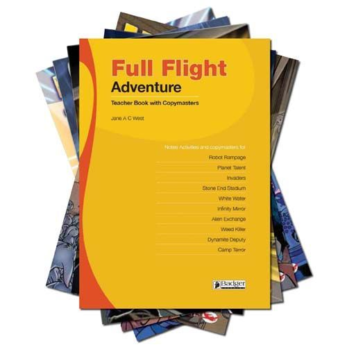 Full Flight Adventure - Complete Pack with Teacher Book + CD