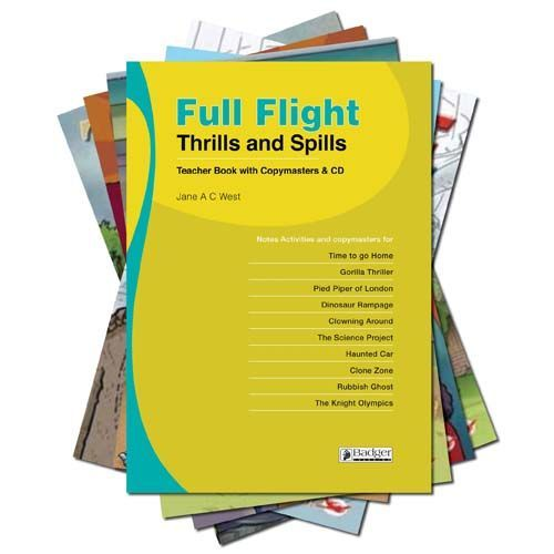 Full Flight Thrills and Spills - Complete Pack with Teacher Book + CD