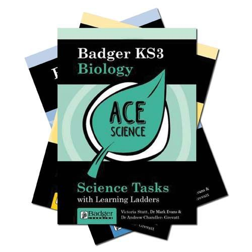 ACE Science: All 3 Science Tasks Books + CDs