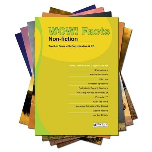 WOW! Facts Lime - Complete Pack with Teacher Book + CD