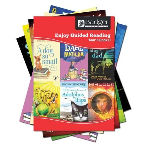 Enjoy Guided Reading Year 5 Pack D