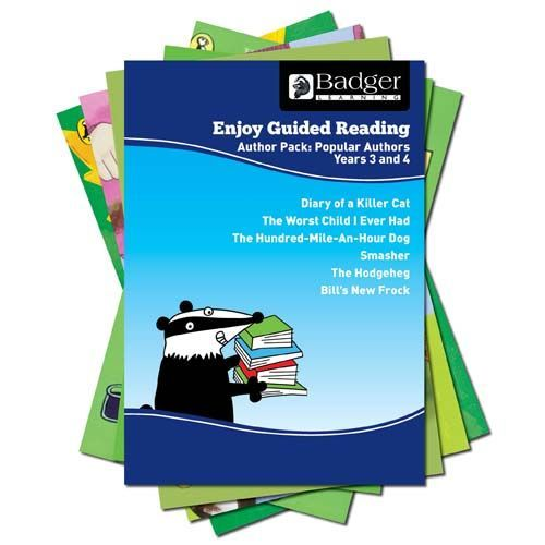 Enjoy Guided Reading Famous Authors Pack