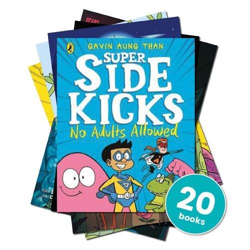 Age 7-11: Graphic Novels and Comic Strip