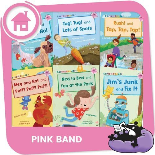 Home Reading Pink Band