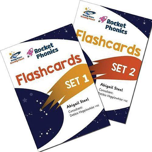Rocket Phonics Flashcards Complete Set