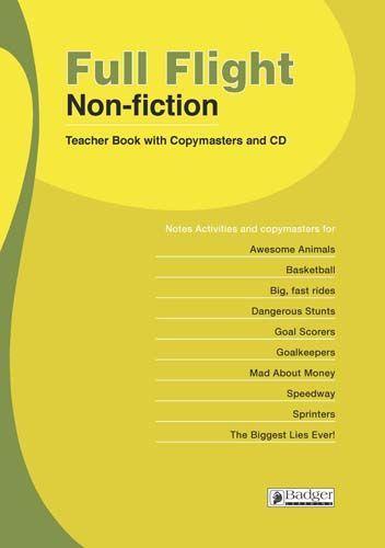 Full Flight Non-fiction Teacher Book + CD