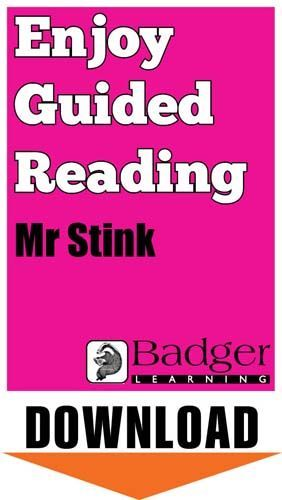 Enjoy Guided Reading: Mr Stink Teacher Notes