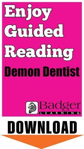 Enjoy Guided Reading: Demon Dentist Teacher Notes