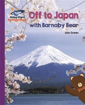 Off to Japan with Barnaby Bear