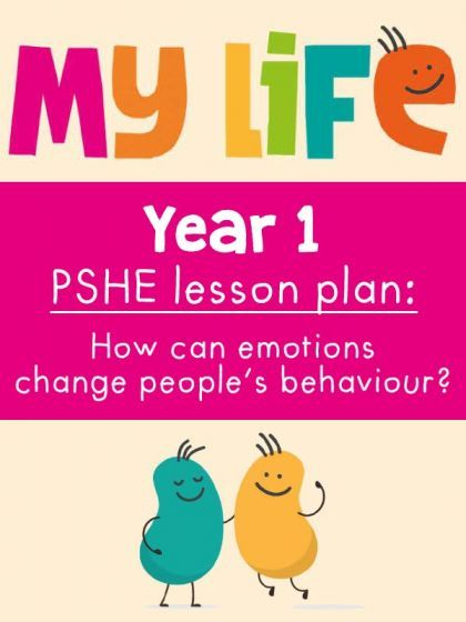 Free My Life PSHE Year 1 Lesson - Emotions and Behaviour