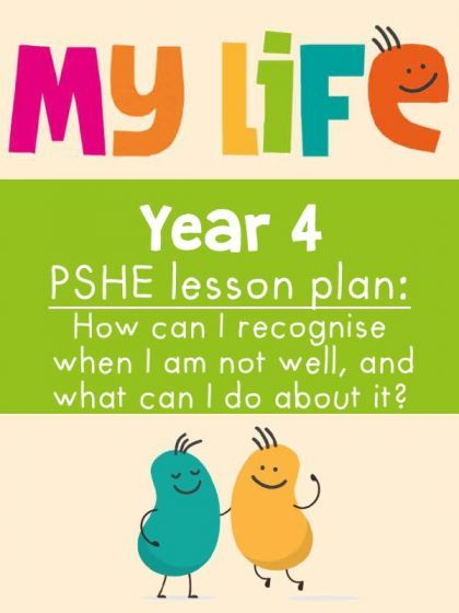 Free My Life PSHE Year 4 Lesson - Looking After Myself