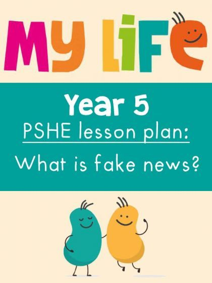Free My Life PSHE Year 5 Lesson - What is Fake News?