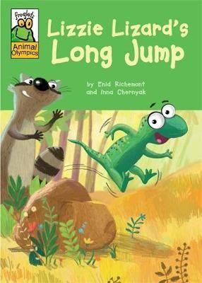 Lizzie Lizard's Long Jump
