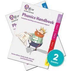 Teacher Handbooks for Big Cat Phonics for Letters & Sounds Set 1