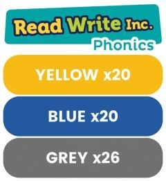 Read Write Inc. Phonics Book Bag Books: Yellow to Grey Pack of 66