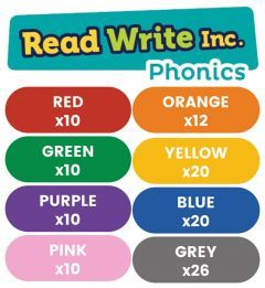 Read Write Inc. Phonics Book Bag Books: Red to Grey Pack of 118