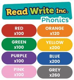 Read Write Inc. Phonics Book Bag Books: Red to Grey Pack of 1180