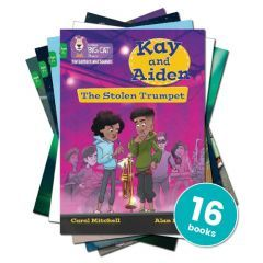 Collins Big Cat Phonics for Letters and Sounds 7+: Green (KS2 Phase 4)