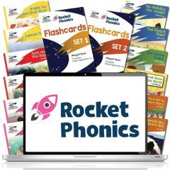 Rocket Phonics Complete SSP Pack with Online Subscription