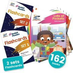 Rocket Phonics Complete SSP Pack without Online Subscription