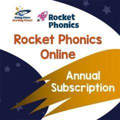 Rocket Phonics Online 1 Year Subscription