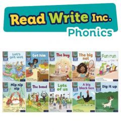 Read Write Inc. Phonics Book Bag Books: Red Pack of 10
