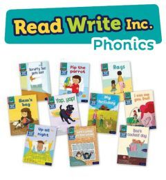 Read Write Inc. Phonics Book Bag Books: Pink Pack of 10