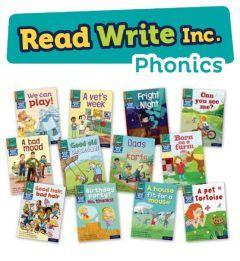 Read Write Inc. Phonics Book Bag Books: Orange Pack of 12