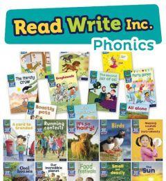 Read Write Inc. Phonics Book Bag Books: Blue Pack of 20