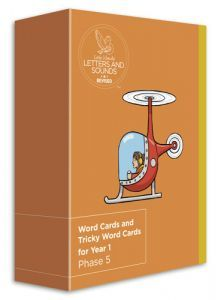 Big Cat Phonics for Little Wandle Letters and Sounds Revised - Word Cards and Tricky Word Cards for Year 1: Phase 5