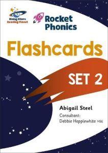 Rocket Phonics Flashcards Set 2