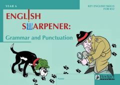 English Sharpener: Grammar & Punctuation Pupil Workbook - Pack of 6