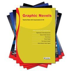 Graphic Novels - Complete Pack with Teacher Book + CD
