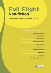 Full Flight Non-fiction Teacher Book + CD