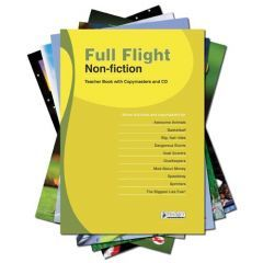 Full Flight Non-Fiction - Complete Pack with Teacher Book + CD