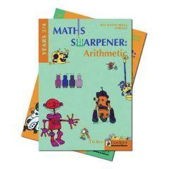 Maths Sharpener: Arithmetic Both Teacher Books + CD