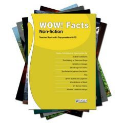 WOW! Facts White - Complete Pack with Teacher Book + CD