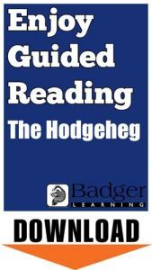 Enjoy Guided Reading: The Hodgeheg Teacher Notes