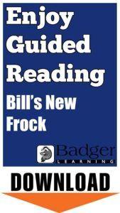 Enjoy Guided Reading: Bill's New Frock Teacher Notes