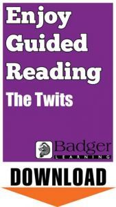 Enjoy Guided Reading: The Twits Teacher Notes