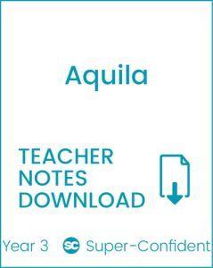 Enjoy Guided Reading: Aquila Teacher Notes