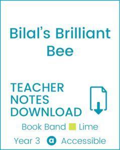 Enjoy Guided Reading: Bilal's Brilliant Bee Teacher Notes