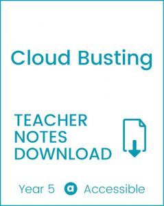 Enjoy Guided Reading: Cloud Busting Teacher Notes