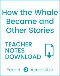 Enjoy Guided Reading: How the Whale Became & Other Stories Teacher Notes