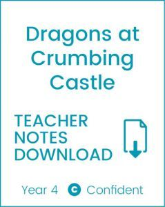Enjoy Guided Reading: Dragon's at Crumbling Castle Teacher Notes