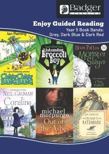 Enjoy Guided Reading KS2 Book Bands: Year 5 Grey, Dark Blue & Dark Red Teacher Book & CD