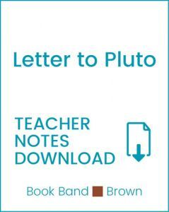 Enjoy Guided Reading: Letter to Pluto Teacher Notes