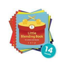 Little Blending Books for Letters and Sounds