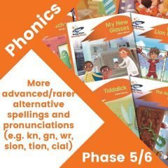 Home Reading Orange Phonics